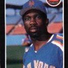 1989 Donruss 152 Mookie Wilson