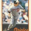 1989 Topps 124 Jim Traber