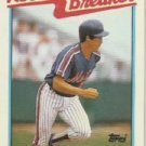 1989 Topps 7 Kevin McReynolds RB/Steals 21 Without/Being