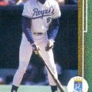 1989 Upper Deck #244 Willie Wilson
