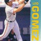 1992 Fleer 8 Leo Gomez