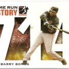 2005 Topps Barry Bonds Home Run History #714 Barry Bonds HR714