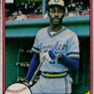 1981 Fleer #527 Dick Davis