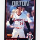1993 Triple Play #131 John Orton