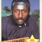 1985 Topps #718 Jeff Leonard AS