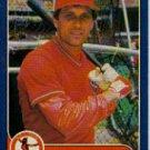 1986 Fleer #27 Steve Braun
