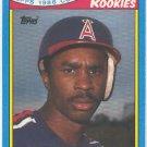 1988 Toys'R'Us Rookies #33 Devon White