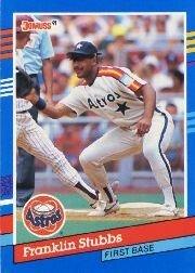 1991 Donruss 99 Franklin Stubbs