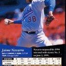 1995 SP #36 Jaime Navarro