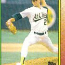 1990 Topps #328 Curt Young