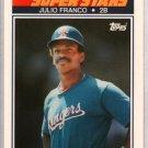 1990 K-Mart 18 Julio Franco