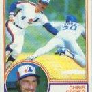 1983 Topps 768 Chris Speier