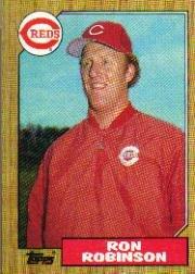 1987 Topps 119 Ron Robinson