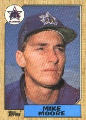 1987 Topps 727 Mike Moore