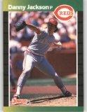 1989 Donruss 124 Danny Jackson
