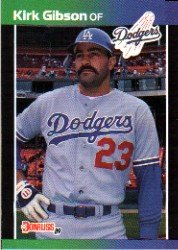 1989 Donruss 132 Kirk Gibson UER/(Wrong birthdate)
