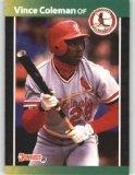 1989 Donruss 181 Vince Coleman