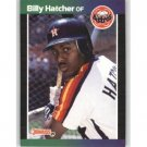1989 Donruss 187 Billy Hatcher