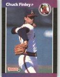 1989 Donruss 226 Chuck Finley