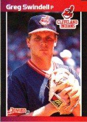 1989 Donruss 232 Greg Swindell