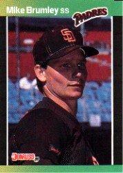 1989 Donruss 302 Mike Brumley