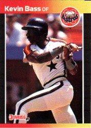 1989 Donruss 325 Kevin Bass