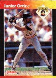 1989 Donruss 387 Junior Ortiz