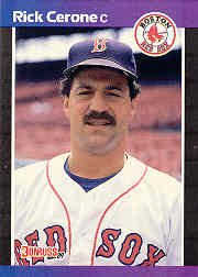 1989 Donruss 398 Rick Cerone