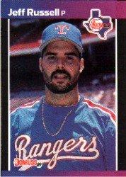1989 Donruss 403 Jeff Russell