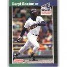1989 Donruss 455 Daryl Boston