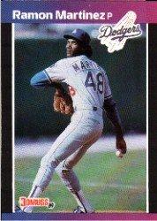 1989 Donruss 464 Ramon Martinez RC