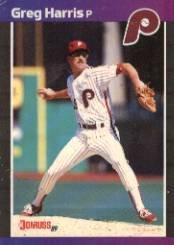 1989 Donruss 548 Greg A. Harris DP