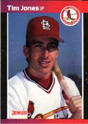 1989 Donruss 555 Tim Jones DP