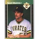 1989 Donruss 597 Scott Medvin