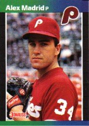 1989 Donruss 604 Alex Madrid DP