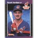 1989 Donruss 609 Scott Jordan RC