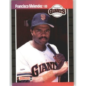 1989 Donruss 611 Francisco Melendez