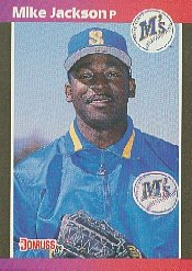 1989 Donruss 652 Mike Jackson