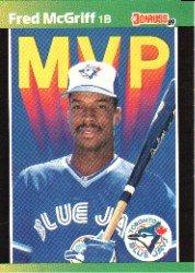 1989 Donruss Bonus MVP's BC19 Fred McGriff