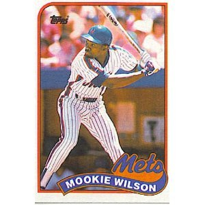 1989 Topps 545 Mookie Wilson
