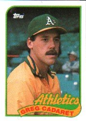 1989 Topps 552 Greg Cadaret