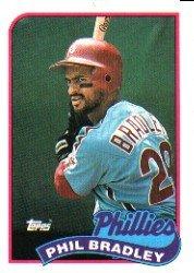 1989 Topps 608 Phil Bradley