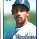 1989 Topps 697B Franklin Stubbs/(Team name on front/in gray)