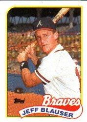 1989 Topps 83 Jeff Blauser