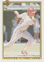 1990 Bowman 159 Tom Herr