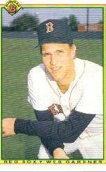 1990 Bowman 266 Wes Gardner