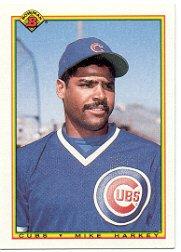 1990 Bowman 28 Mike Harkey