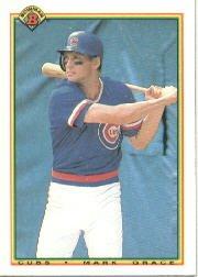 1990 Bowman 29 Mark Grace