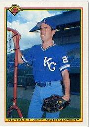 1990 Bowman 370 Jeff Montgomery