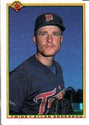 1990 Bowman 409 Allan Anderson